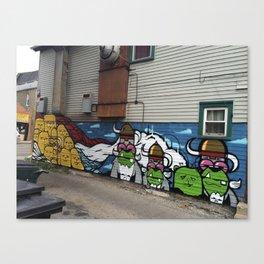 Pilsen Mural  Canvas Print