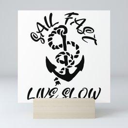 Sailboat Mini Art Print