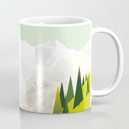 Alone In Nature - Là Haut Coffee Mug