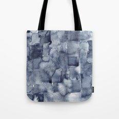 Indigo Watercolor Tote Bag