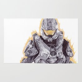 Halo Master Chief Rug