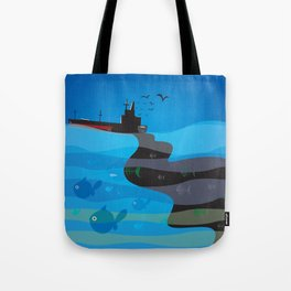 go humans! Tote Bag