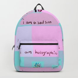 I Am Holographic Backpack