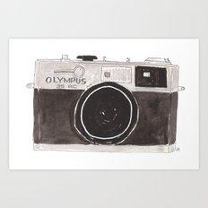My Camera, Your Camera Art Print