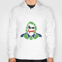 joker Hoodies featuring Joker by Sourire Art