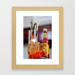 Offerings Framed Art Print