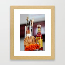 Offerings Framed Art Print