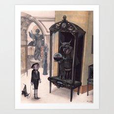 in the Museum Art Print