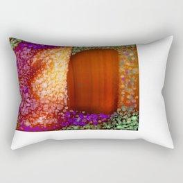 backdoor Rectangular Pillow