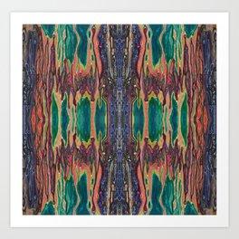 Unknown Immortal Species (The Door of Transcendence) (Reflection) Art Print
