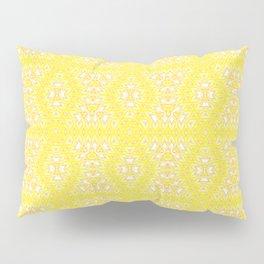 Yellow, ethnic ornament Pillow Sham