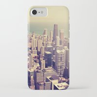 metropolis iPhone & iPod Cases featuring Metropolis by farsidian