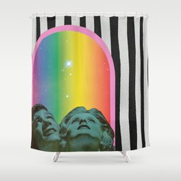Stars Shine Brighter With You Shower Curtain