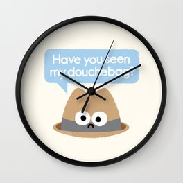 Missing Person Wall Clock