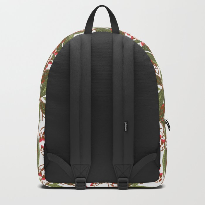 Flowering Gum - White Backpack