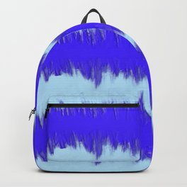 Two Tone Blue Wave Backpack
