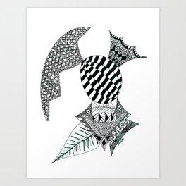 Fish Egg Creature Art Print