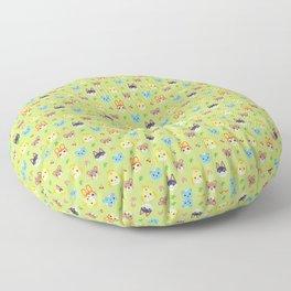 Animal Crossing - Green Floor Pillow