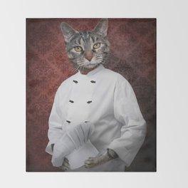 Chef Lola Throw Blanket