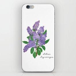 Lilacs: Syringa iPhone Skin