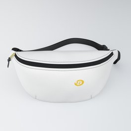 Plan B Bitcoin Cryptocurrency Decentralized Crypto Fanny Pack