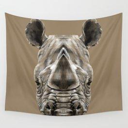 Rhino Sym Wall Tapestry