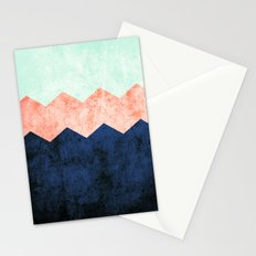 triple chevron (2) Stationery Cards