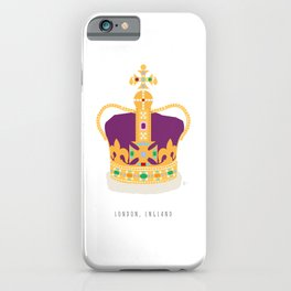 London, England | The Crown Jewels iPhone Case