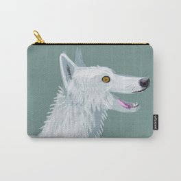 Totem Canadian wolf 1 Carry-All Pouch