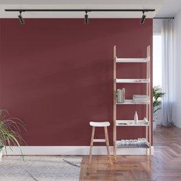 Merlot 19-1534 TCX | Pantone | Color Trends | London | Fall Winter 2019 2020 | Solid Colors | Wall Mural