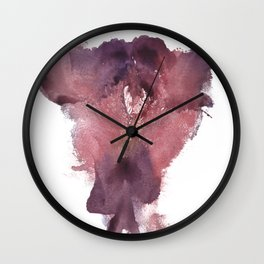 Verronica's Vulva Print No.3 Wall Clock