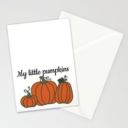 My Little Pumpkins Stationery Cards