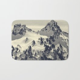 Mount Rainier National Park Bath Mat