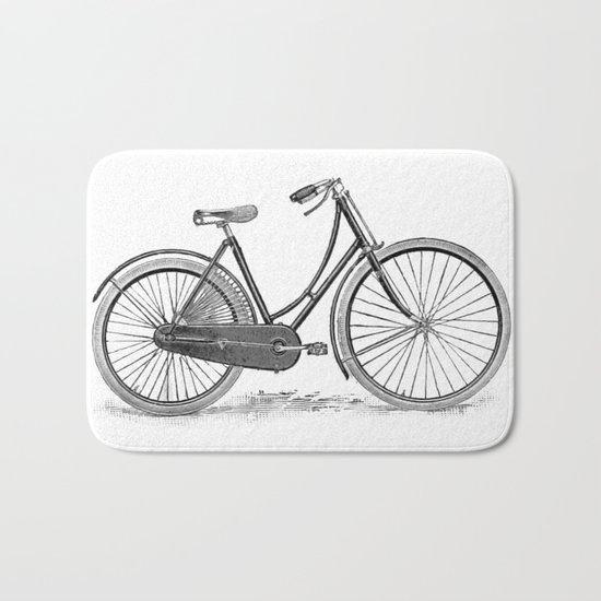 Bicycle 2 Bath Mat