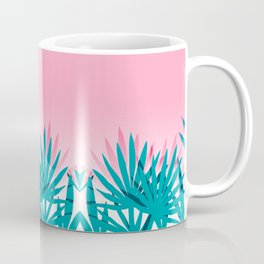 Dissed - memphis retro vintage neon pink pastel ombre trendy girl gift for hipster urban beach goer Coffee Mug