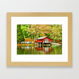 The Lake House Framed Art Print