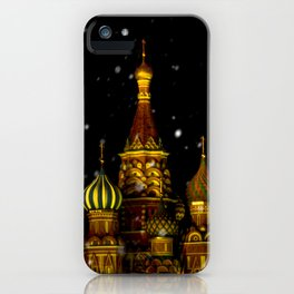 Moscow Night iPhone Case