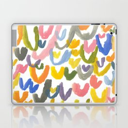 Abstract Letterforms 1 Laptop & iPad Skin