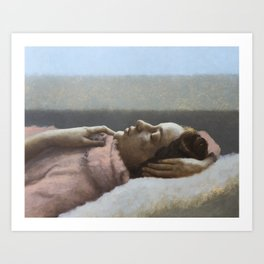 Winter Sleep Art Print