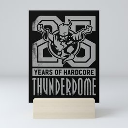 Thunderdome - Deejay Mini Art Print