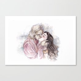 Rumbelle - And they lived happily ever after Canvas Print