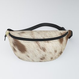 Pattern of a Longhorn bull cowhide. Fanny Pack