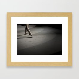 Dancing on Concrete Framed Art Print