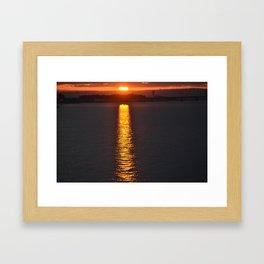Path to Sunshine Framed Art Print