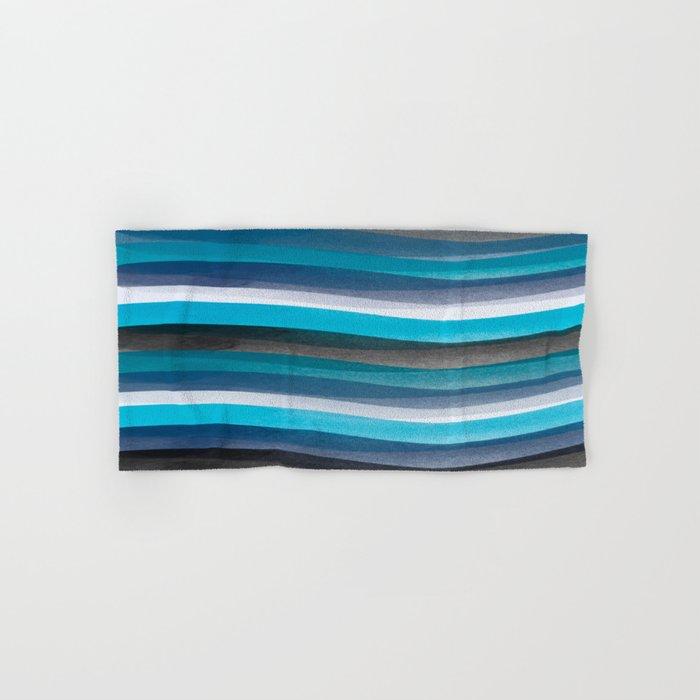 Blue lines Hand & Bath Towel