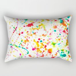 Sunday Splatter Rectangular Pillow