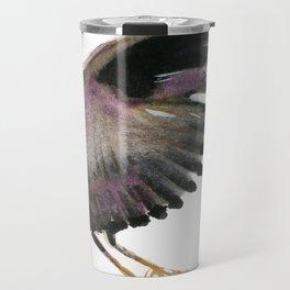 Black Heron Travel Mug