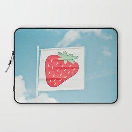 Strawberry Sky Laptop Sleeve