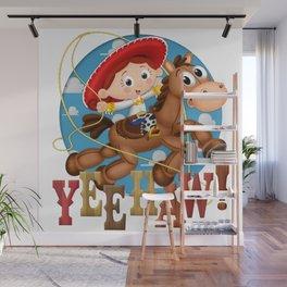 YeeHaw! Wall Mural