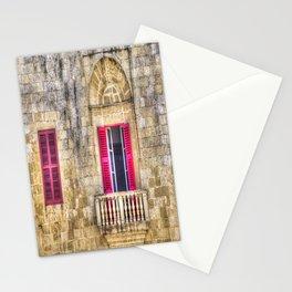 Traditional Maltese House Mdina Malta Stationery Cards